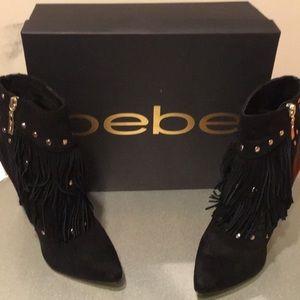Bebe size 9 booties
